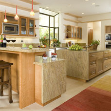 Contemporary Kitchen by RKI Interior Design