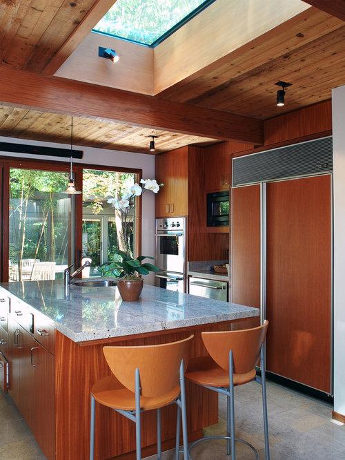 Cherry Cabinets Kitchen | Houzz