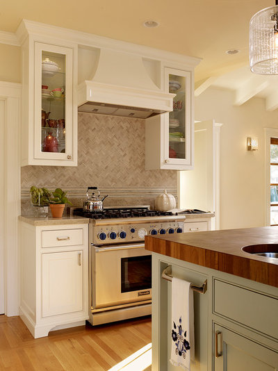 Transitional Kitchen by Coddington Design