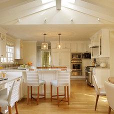 Transitional Kitchen by Coddington Design