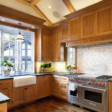 Traditional Kitchen by ScavulloDesign Interiors