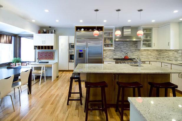 Contemporary Kitchen by KitchenLab   Rebekah Zaveloff Interiors