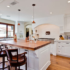 Traditional Kitchen by Luke Gibson Photography