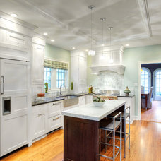 Transitional Kitchen by Pamela Polvere, CKD
