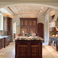 Mediterranean Kitchen by Panache development & construction Inc Custom home