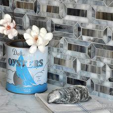 Contemporary Kitchen by New Ravenna Mosaics