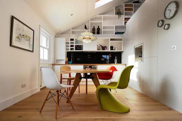 コンテンポラリー キッチン by Papillon Interiors