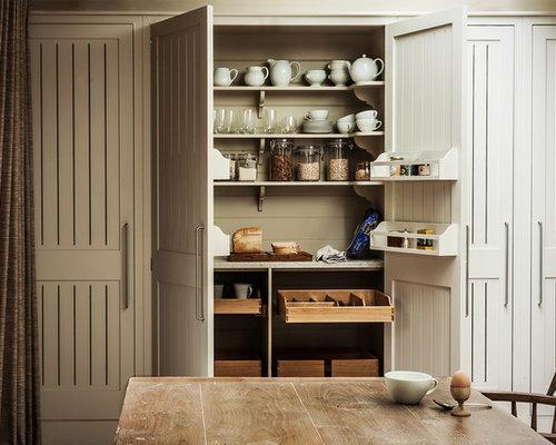 Landhausstil Küchen mit Vorratsschrank Ideen & Bilder HOUZZ
