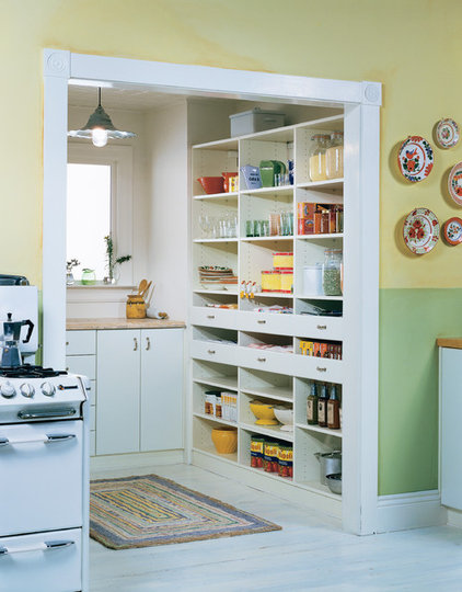 Traditional Pantry Cabinets by California Closets