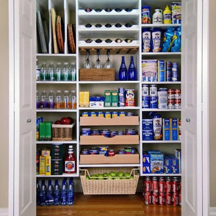 Traditional kitchen pantry designs - Inspiration for a timeless kitchen pantry remodel in Other