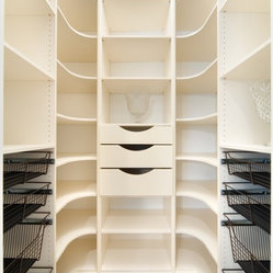 Pantry - Designed for elegant storage, butler pantry.