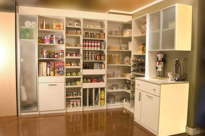 Contemporary Kitchen by Closets to Go
