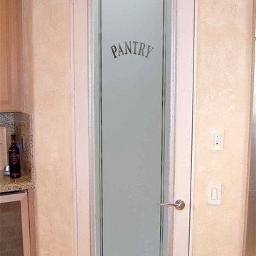 Pantry Doors - Sans Soucie Classic Arched - Glass Pantry Door