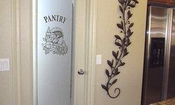 Pantry Doors - Sans Soucie Vino 2D Glass Pantry Door