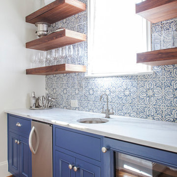 Pantry in Blue