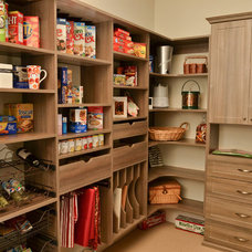 Traditional Kitchen by Artisan Custom Closets