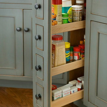 Pantry Spice Cabinet