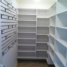 Traditional Closet by A Better Closet