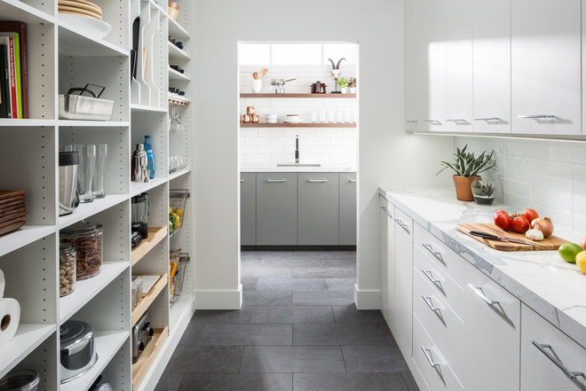 Contemporary Kitchen by The Organized Home