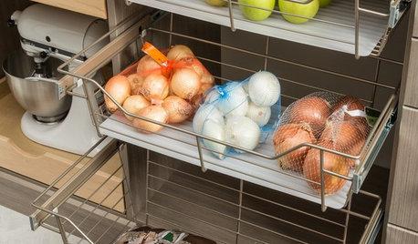 Cómo guardar patatas, cebollas y ajos en la cocina