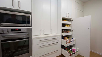 Pantry with draws