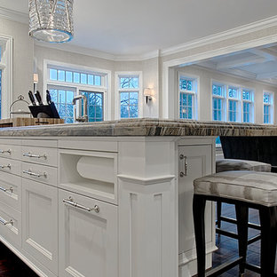 Paper Towel Storage In Kitchen Island