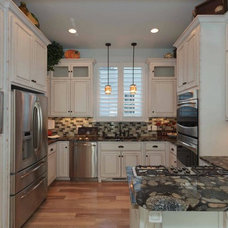 Traditional Kitchen by Edgerton Contracting, Inc.