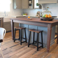 Eclectic Kitchen by Geitgey's Amish Country Furnishings