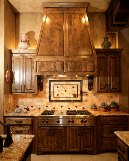 Mediterranean Kitchen by Silver Oak Interiors
