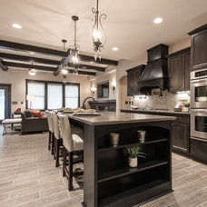 Transitional Kitchen by Titan Homes LLC
