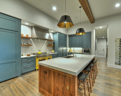 kitchen tile ideas pictures best kitchen with blue cabinets design ideas amp remodel 20114