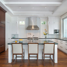 Beach Style Kitchen by Stofft Cooney Architects