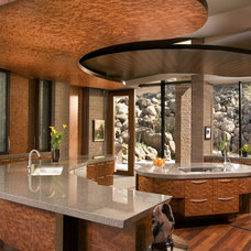 Contemporary Kitchen by Swaback Partners, pllc