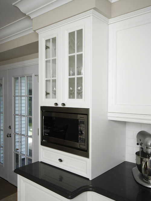 Microwave Trim Kit Ideas, Pictures, Remodel and Decor
