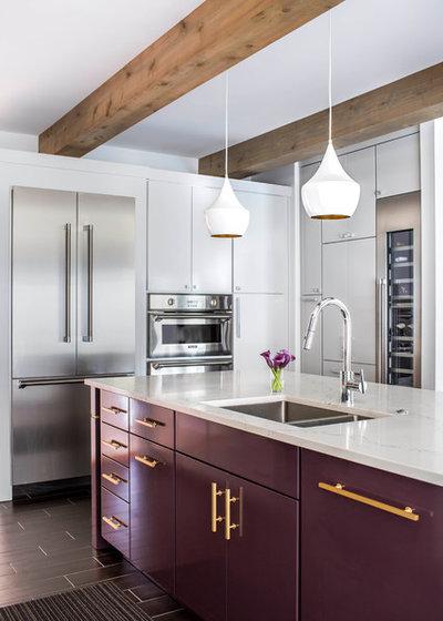 Contemporary Kitchen by Terracotta Design Build