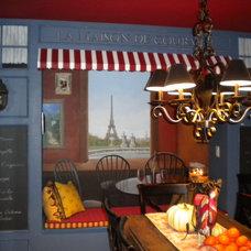 Mediterranean Kitchen by Victoria Gobel Design