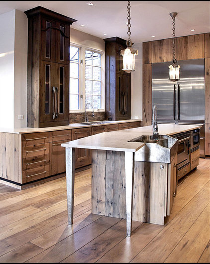 Traditional Kitchen by Culligan Abraham Architecture