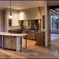 Traditional Kitchen by Michael Abraham Architecture