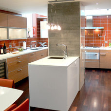 Contemporary Kitchen by Complete Tile Collection