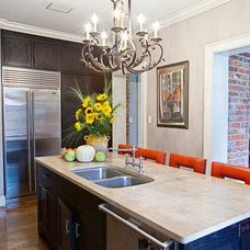 Eclectic Kitchen by Berg Building + Design