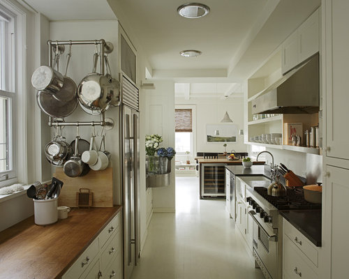 wall mounted pot rack ideas, pictures, remodel and decor,