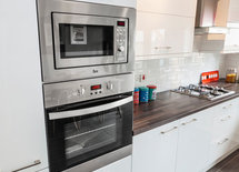 Is the countertop wood or tile?