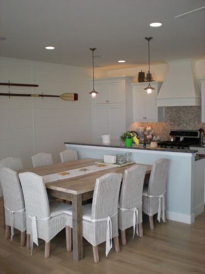 Beach Style Kitchen by Cottage Home, Inc.