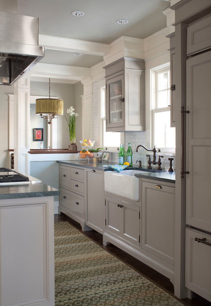 Transitional Kitchen by company kd, llc.