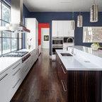Modern White Kitchen Contemporary Kitchen Toronto