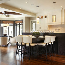 Transitional Kitchen by Parkyn Design