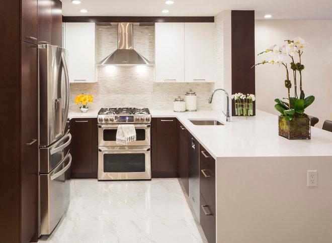 Transitional Kitchen by Vi-Design