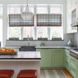 Park Slope Row House Kitchen