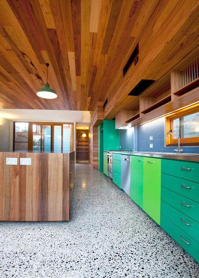 Contemporary Kitchen by Miris Windows & Doors