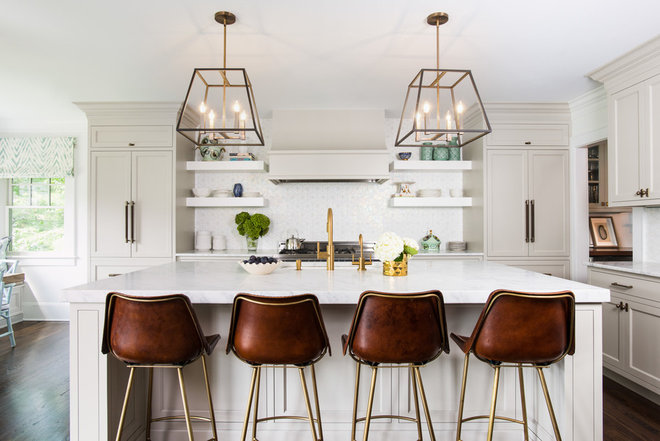 Transitional Kitchen by Roost Interiors